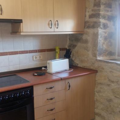 cocina apartamento del Arco