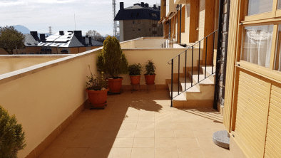 El Casar de Rapitán - terraza