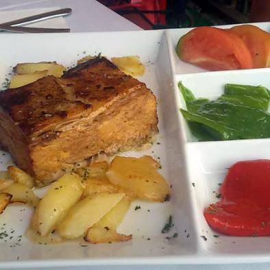 Cochinillo deshuesado - Restaurante Sarao