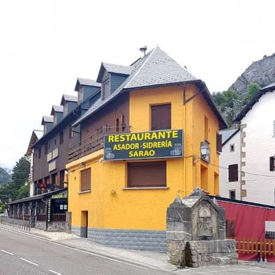 Fachada - Restaurante Sarao