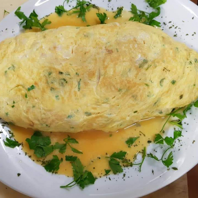 Tortilla de Bacalao - Restaurante Sarao