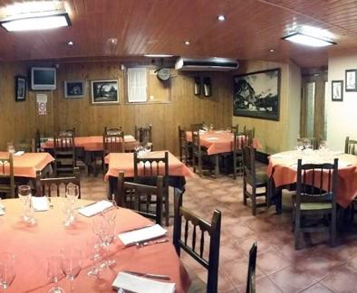 Restaurante amplio - Restaurante Sarao
