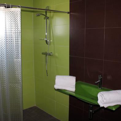 Ducha habitación 2 - Hotel rural Santa Juliana