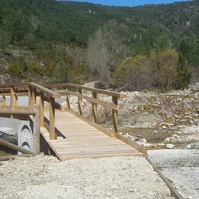Puente de acceso a la ermita